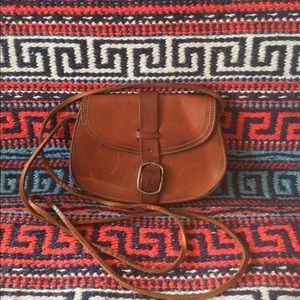 Small Leather Shoulder Purse